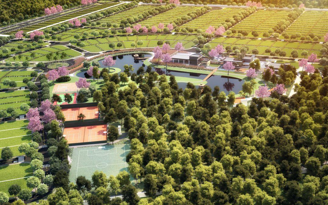 Condomínio de luxo em Sorriso: detalhes do Arboreto Eco Ville.