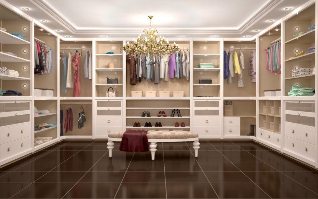 Veja o que é e como planejar um closet para o seu imóvel de alto padrão!