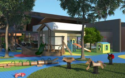 Quais são as vantagens de um playground em condomínio fechado de alto padrão?
